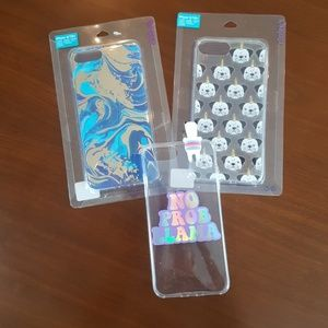 IPhone 6/7/8+ bundle of 3 cases